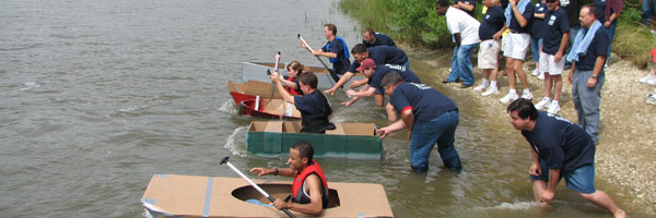 cardboard boat competition